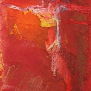 RBB Figure croisée rouge 35 x 50