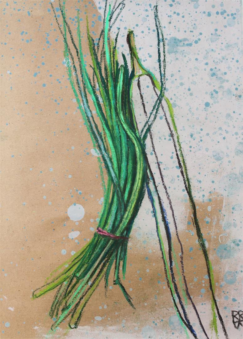 bulbes tiges graines et herbes