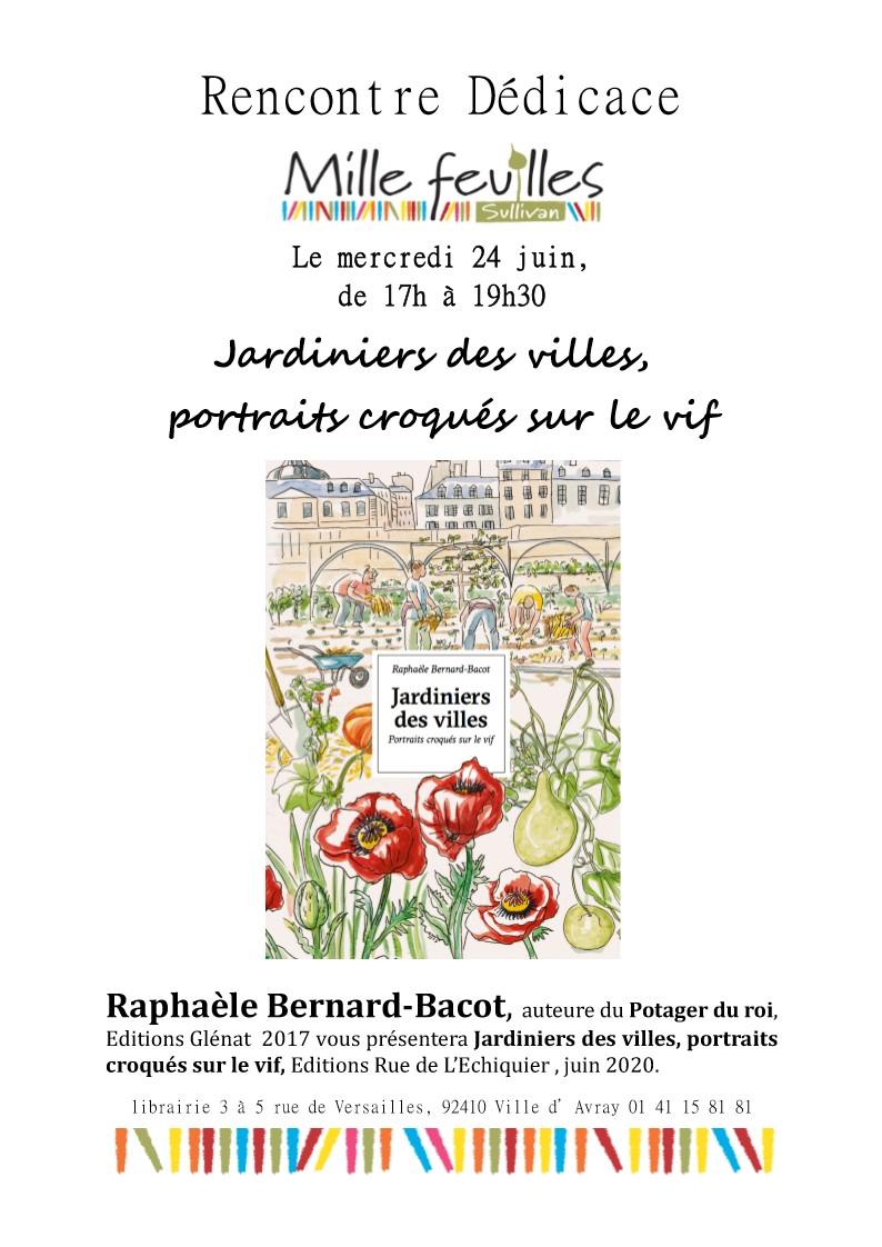 Invitation dédicace Mille feuilles 24 juin 2020