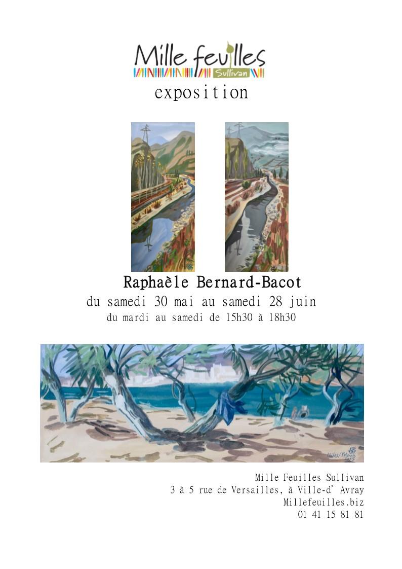 Invitation exposition Mille feuilles juin 2020