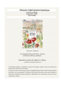 Invitation dédicace à la péniche librairie L'eau et les rêves 20 juin 2020